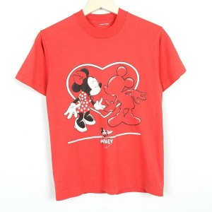 MINNIE MOUSE ミニーマウス キャラクタープリントTシャツ レディースS /weo0653 【古着屋JAM】【中古】 160320【SS1706】【SS1707】
