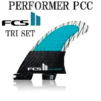 FCS2 フィン パフォーマー PERFORMER PC CARBON THRUSTER TRI FIN S M / エフシーエス2 トライフィン サーフボード サーフィン ショート