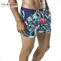 【CLEVER2016-1】 CLEVER クレバー Exotic Parrot Swimsuit Trunk Ref,0602 CLEVER スイムパンツ 【男性下着 水着 ボクサー メンズ...
