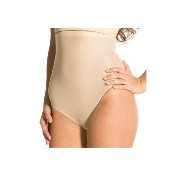 MAGIC BODYFASHION ハイウエスト下着 High Waist Thong 1373 camel L