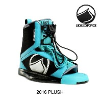 2016 LIQUID FORCE リキッドフォース バインディング WOMEN'S BINDING PLUSH AQUA/BLACK 4-7