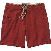 パタゴニア Patagonia メンズ 水着 ボトムのみ【Solid Stretch Planing Board Short】Classic Red
