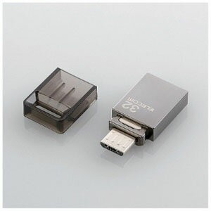 エレコム USB microB⇔USB A USB3.0メモリ「Android/Mac/Win」(32GB) MF‐SBU332GDG