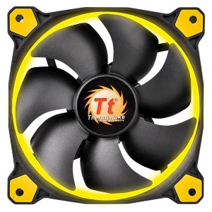 Thermaltake CPUクーラー Riing 12 イエロー CL-F038-PL12YL-A [CLF038PL12YLA]【NYOA】