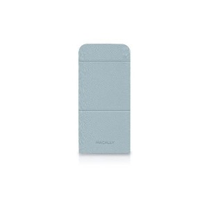 MACALLY iPhone5用ケース SSTAND5 ブルー SSTAND5BL [SSTAND5BL]