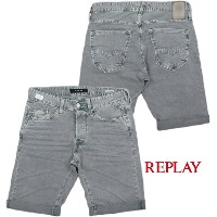 "【SALE】30%OFF★REPLAY/リプレイ M997B WAITOM SHORT BERMUDA SHORTS ""ウェイトン""ストレッチデニムショーツ9.5oz STRETCH BULL..."