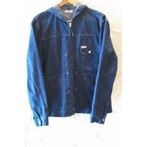 SUGAR CANE Light シュガーケンライト/11oz NEP DENIM HOODEO JKT NAVY