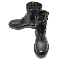 "【ポイント20倍】Chippewa(チペワ) Women's 7-inch ""Original"" Engineer (Black Whirlwind)"