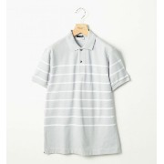 <LACOSTE (ラコステ) × BY> ∴ BORDER POLO/ポロシャツ【ビューティアンドユース ユナイテッドアローズ/BEAUTY&YOUTH...
