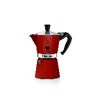 【並行輸入】Bialetti 06905 6-Cup Espresso Coffee Maker, Red コーヒーメーカー