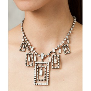 Michel's Vintage Beads Neckrace Gypsy Squareヴィンテージビーズネックレス・ジプシースクウェア