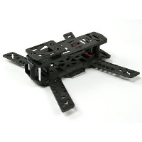 KINGKONG 188 FPV Racer Frame (Kit) (Black)