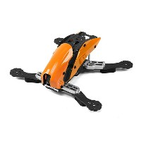 Tarot TL250C Space Through Machine FPV Full Carbon Fiber (Orange) Frame Only