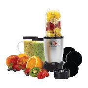 The Original Magic Bullet (Silver) Blender/Mixer, 11-piece Set マジックバレット ブレンダー 11ピース