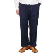 NIGEL CABOURN ナイジェル・ケーボン BASIC MILITARY CHINO PANT NAVY
