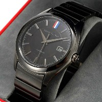 Black Fleece by Brooks Brothers TIMEPIECES Black Metal Band Watch ブラックフリース by ブルックスブラザーズ ブラック 腕時計...