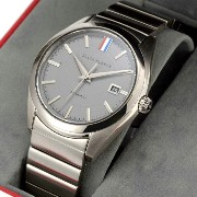 Black Fleece by Brooks Brothers TIMEPIECES Grey Metal Band Watch ブラックフリース by ブルックスブラザーズ 腕時計 メタルバンド...