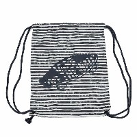 レディース 【VANSアパレル】 ヴァンズ バッグ BENCHED NOVELTY BAG VN0001CYIV5 16SP (STRIPES) BLACK