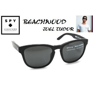 ★SPY★スパイ★CROSSTOWN★BEACHWOODXJOEL TUDOR★MATTE BLACK-GREY★サングラス