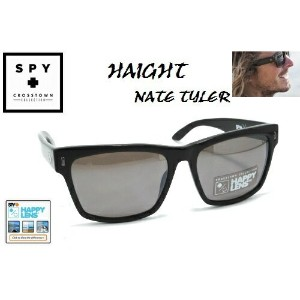 ★SPY★スパイ★CROSSTOWN★HAIGHTXNATE TYLER★BLACK-HAPPY BRONZE POLAR BLACK MIRROR★サングラス