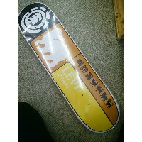 【 Element 】THRIFTWOOD 8.125×32.35 PRISMATIC SERIES/Levi Prismatic(AF027-129)Skateboard Deck スケートボード...