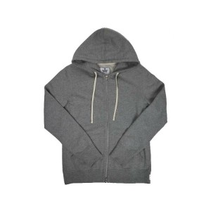 【REIGNING CHAMP】CORE FULL ZIP HOODIE H.GREY(正規取扱店)