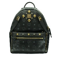 MCM エムシーエム バッグ リュック MMK6SVE80 BLACK DUAL STARK BACKPACK SMALL