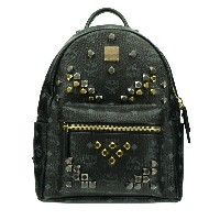 MCM エムシーエム バッグ リュック MMK6SVE19 BLACK STARK BACKPACK SMALL