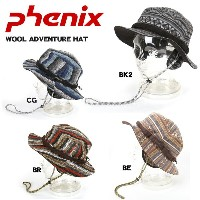 PHENIX フェニックス 帽子 WOOL ADVENTURE HAT PH358HW15 BE/BK2/BR/CG【帽子】