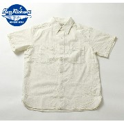 No.BR35856 BUZZ RICKSONS バズリクソンズOFF WHITE CHAMBRAYS/S WORK SHIRT