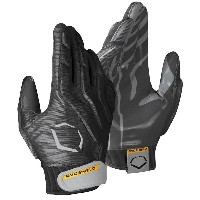 エボシールド メンズ アメフト グローブ【Evoshield EvoBlitz Linebacker/Tight End Gloves】Black/Grey