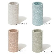 soil TOOTHBRUSH STAND ピンク 歯ブラシ立て