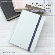 365 notebook Premium〈A6〉日めくりカレンダーの紙を使った手帳新日本カレンダー 日本製