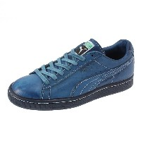 プーマ PUMA STATES INDIGO LEATHER MIJ メンズ coronet blue