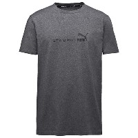 プーマ STAMPD BASIC PRINT T メンズ dark gray heather-STAMPD