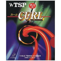 TSP卓球ガット・ラバーカールソフト P‐1R020505レッド
