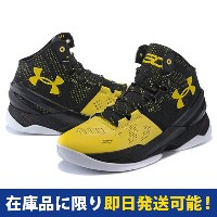 SC30 ステファン・カリー UA CURRY 2 UNDER ARMOUR Black/Taxi