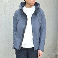 DESCENTE ALLTERRAIN(オルテライン)/INNER SURFACE TECHNOLOGY PARAHOOD JACKET -MDGY(グレー)- 【H】