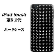 iPod touch 6 第6世代 ハードケース / カバー【787 マイクロドット柄BKローズBK 素材クリア】★高解像度版(iPod touch6/IPODTOUCH6...