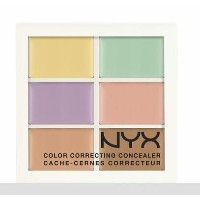 NYX Conceal, Correct, Contour Palette /NYX カラーコレクティング コンシーラーパレット 色[04 Color Correcting カラーコレクティング]