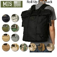 MIS エムアイエス バックパック Roll Up BackPack MIS-1009