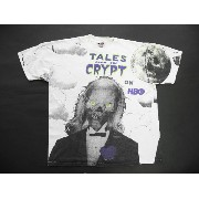 90's■USA製Tales from the crypy両面プリントTシャツ(XL)当時物