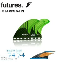 FUTURES FIN フューチャー フィンRTM HEX V2 STAMPS 5FINフューチャー 5フィン送料無料フューチャーフィン5本セットサー...