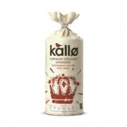 Kallo Org FT Unsalted Rice Cakes 130 g (order 6 for trade outer) / Kallo組織FT無塩ライスケーキ130グラム(商品アウターため6 )