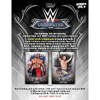 2016 TOPPS WWE UNDISPUTED WRESTLING BOX
