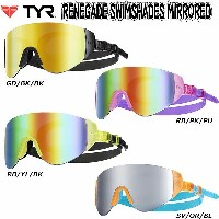 ●TYR(ティア)★RENEGADE SWIM SHADES MIRRORED★クッションゴーグル★LGRNGD*