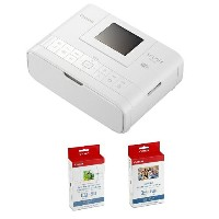 Canon プリンター SELPHY CP1200 カードプリントキット ホワイト CP1200CARDPRINTKIT(WH) 限定品