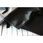 Clairevoire C115 Digital Piano Cover デジタルピアノカバー ヤマハ [限定版レザーレット Black Leatherette] for Yamaha P115 / P105 ...
