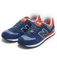 【NEW BALANCE】 ニューバランス ML574CPX 16FW ABC-MART限定 *NAVY/RED(CPX)