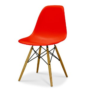 Eames Shell Chair イームズ チェア Side Chair(DSW) /レッド【smtb-ms】【RCP】.